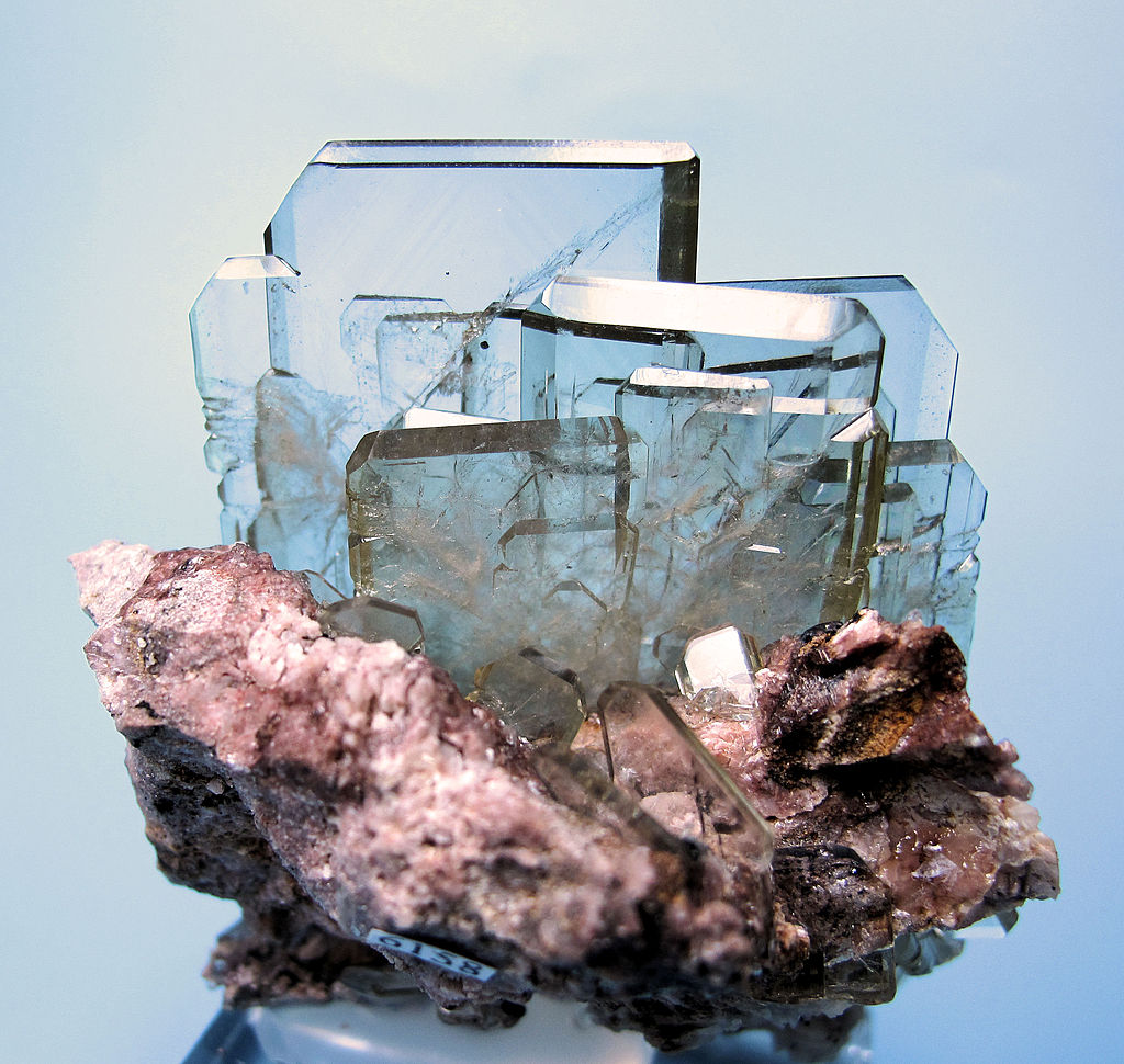 Barite crystal